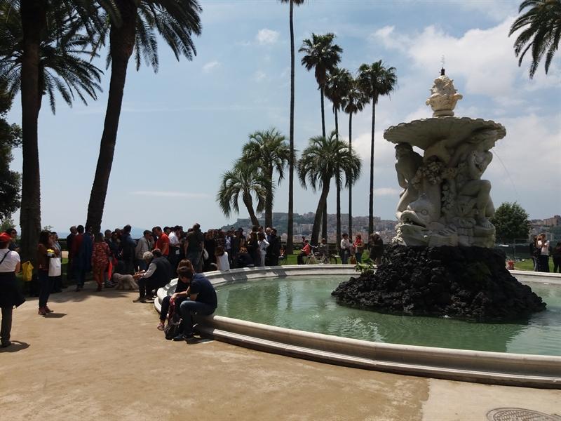 Capodimonte, Belvedere e Fontana le nuove meraviglie
