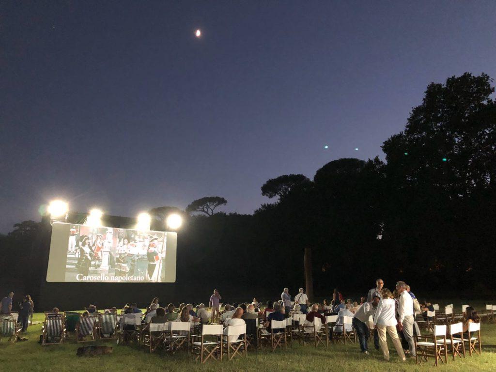 Pittori di Cinema, proiezioni gratuite all'aperto