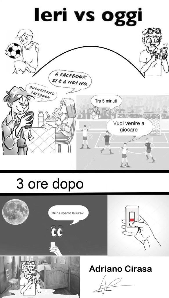 Il fumetto di Adriano: Ieri vs oggi