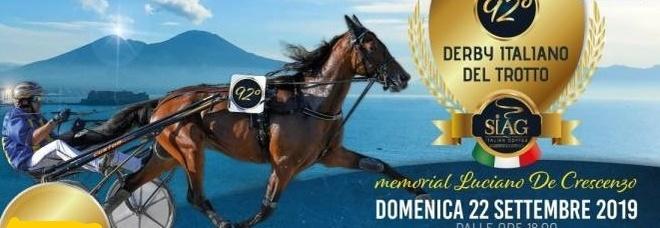 Derby del trotto dedicato a Luciano De Crescenzo