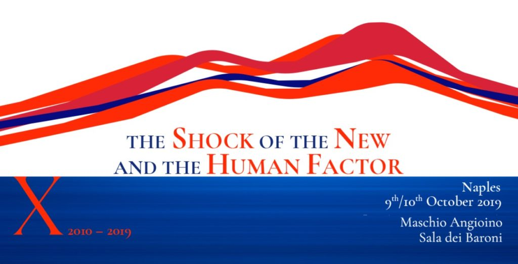 "Armatori a Napoli discutono su ""The Shock of the New"""
