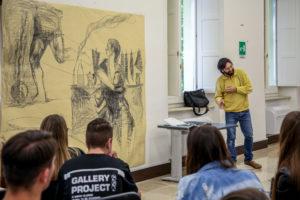 """""""BASSI – Giovanni Robustelli disegna Domenico Rea"""""""