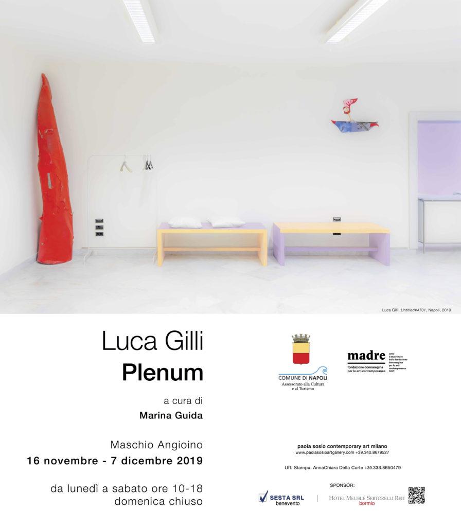 Plenum di Luca Gilli al Castel Nuovo