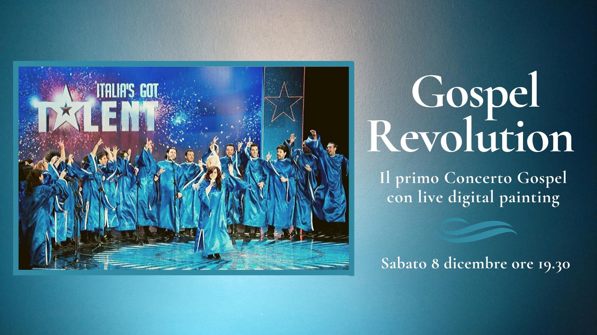'Gospel Revolution' al Complesso di Donnaregina