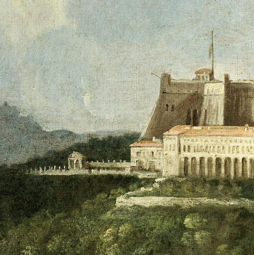 L'Aleph nella Certosa di San Martino per il Solstizio