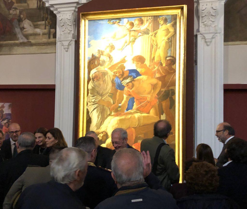 Poussin a Napoli. Cinquemila presenze a Donnaregina