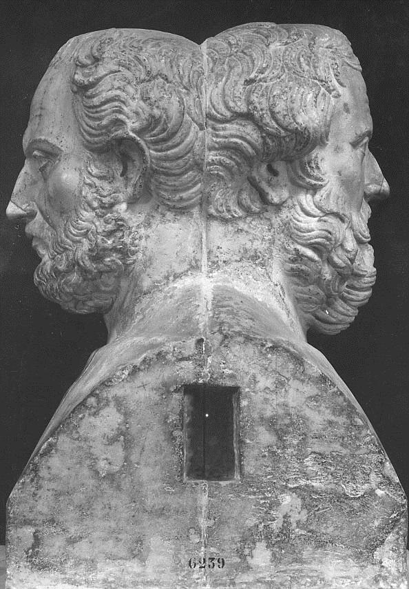 La Doppia Erma Erodoto/Tucidide al Palais lussemburghese