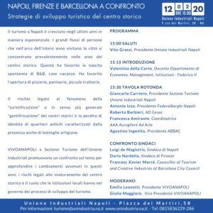 Turismo, Napoli, Firenze e Barcellona a confronto