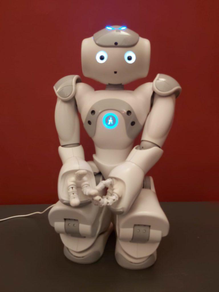 TassiNao, il robot umanoide al Museo di Capodimonte intervista i turisti
