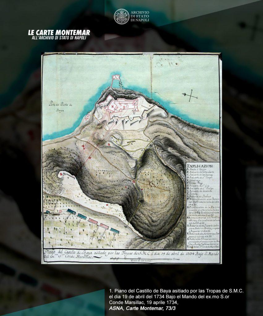 Mostra virtuale: Le Carte Montemar all'Archivio di Stato di Napoli