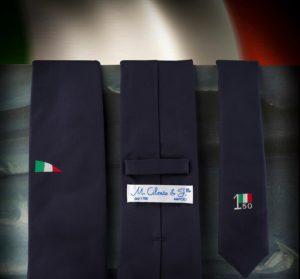 Covid 19;Cilento rilancia cravatta dedicata alla Repubblica: augurio di unità e solidarietà