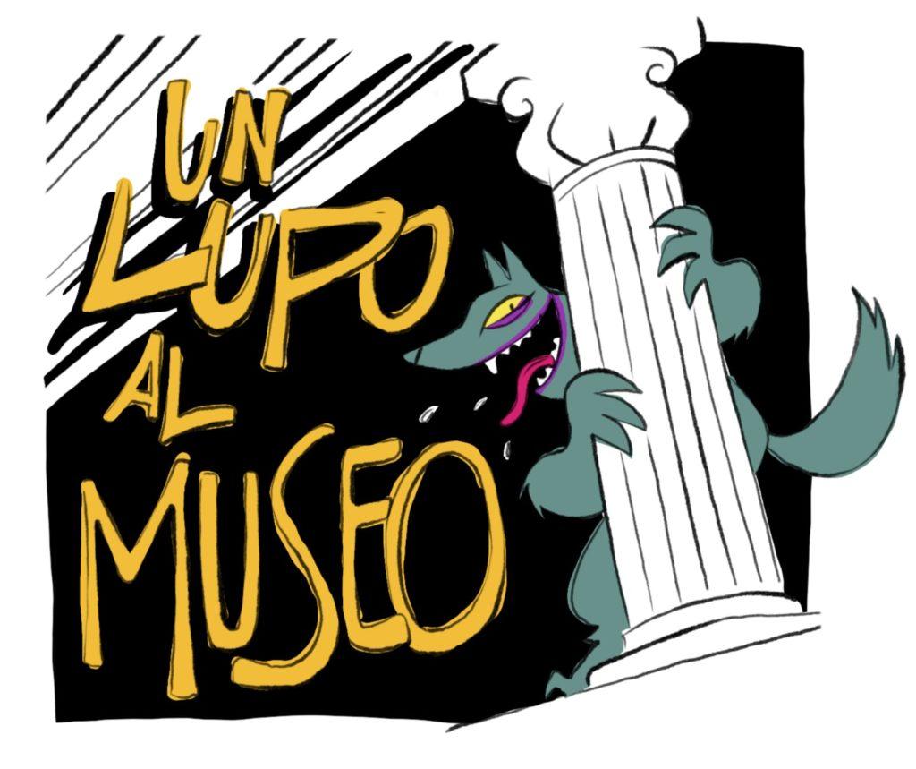 """Un lupo al Museo"" sulla pagina Facebook del MANN"