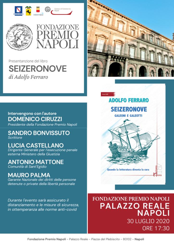 SEIZERONOVE riapre gli incontri alla Fondazione Premio Napoli
