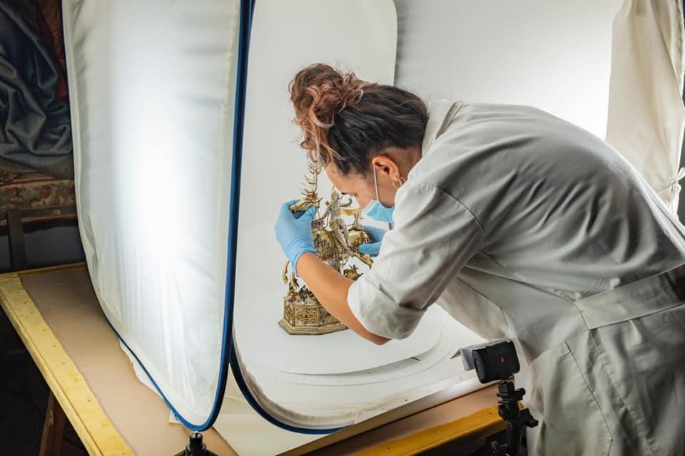 Campagna di digitalizzazione nel Museo di Capodimonte
