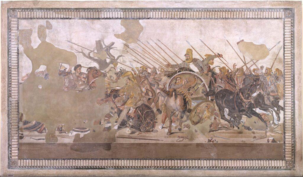 Al via il restauro del Mosaico della Battaglia di Isso