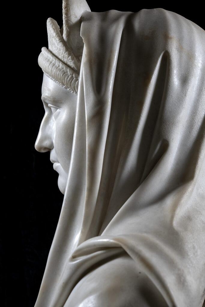 Ritratti dalla Campania Romana del MANN nelle immagini di Luigi Spina