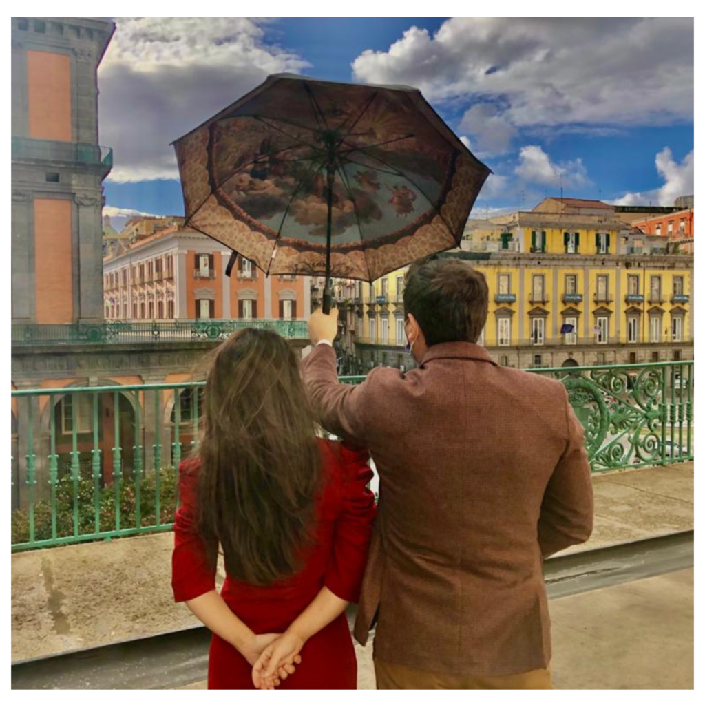 Innamorati sotto il cielo del San Carlo