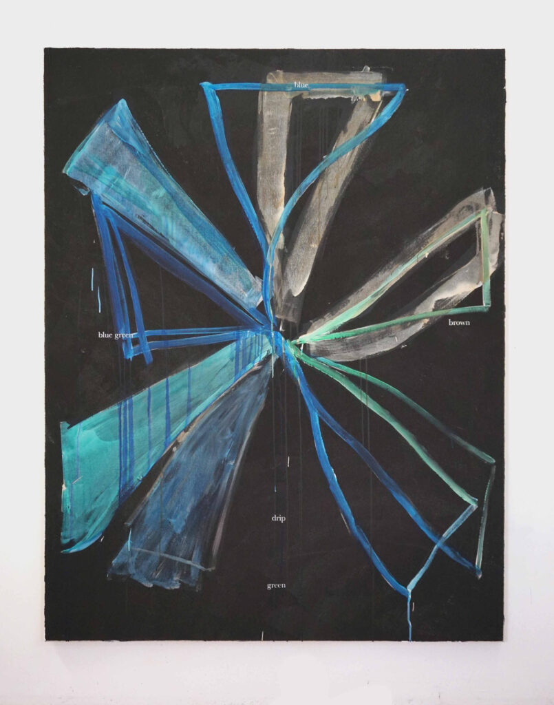 Henry Chapman con Prudent triangle a Labs Contemporary Art