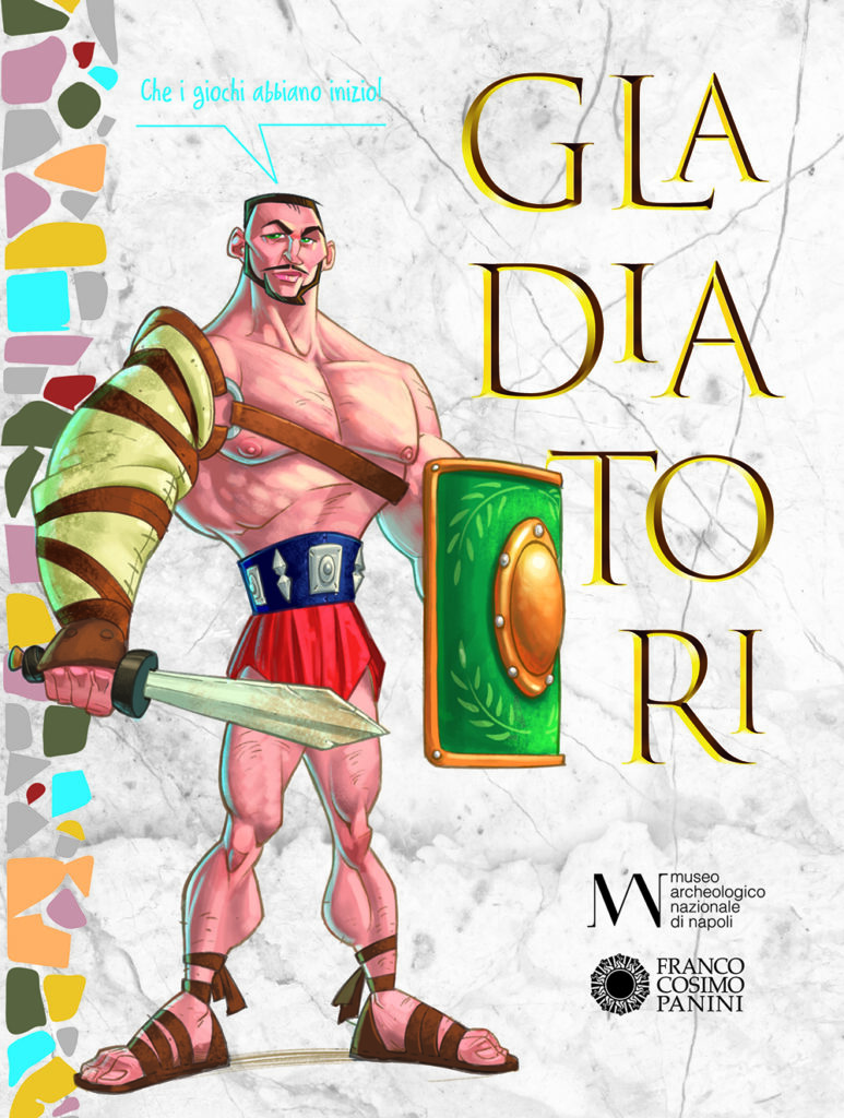 Gladiatori, in libreria il racconto illustrato dedicato alla mostra del MANN