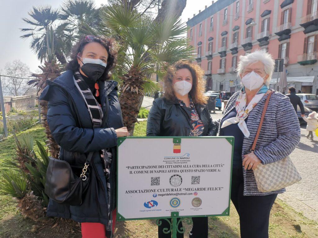 """L'Associazione """"Megaride Felice"""" adotta i giardini di via Cesario Console"""