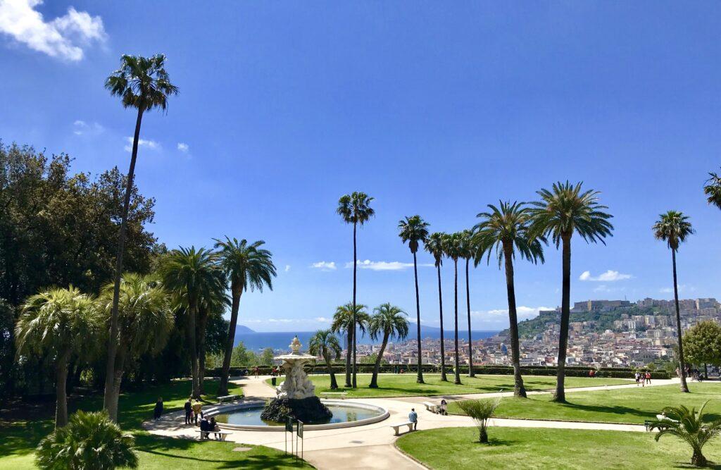 Capodimonte, dal giardino tardobarocco al giardino inglese tre secoli di verde storico