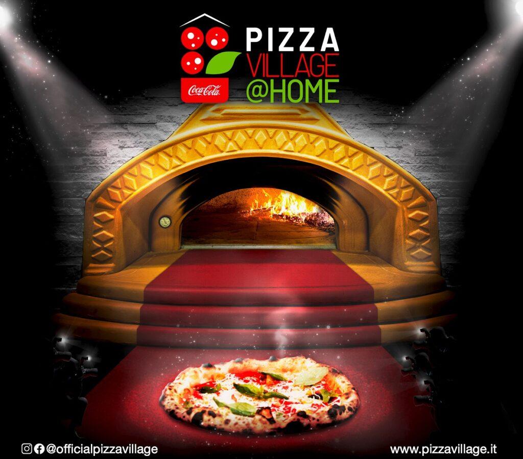 Napoli pronta ad accogliere il Coca-Cola PizzaVillage@Home