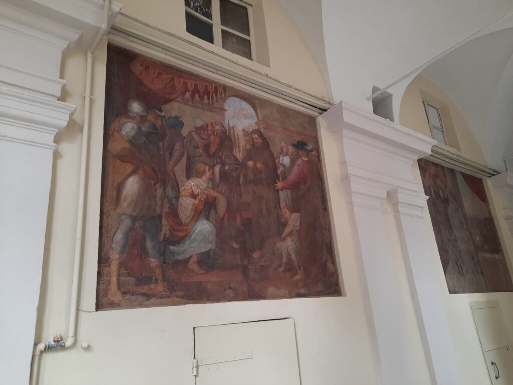 Restaurata l'antica dimora dei frati minori conventuali di Torino