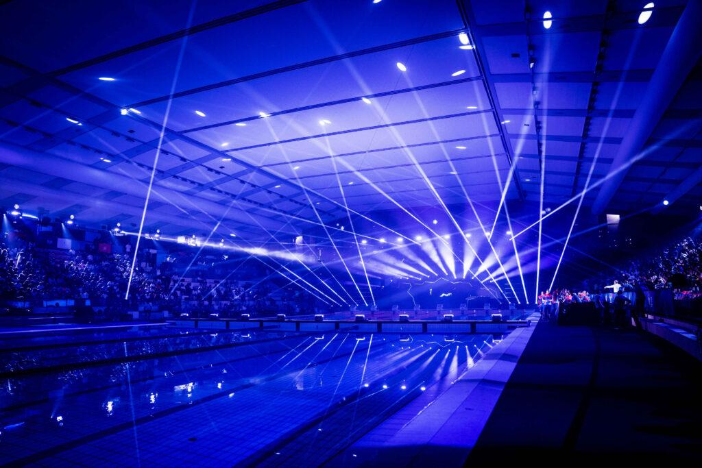 I migliori nuotatori del mondo a Napoli per l'International Swimming League
