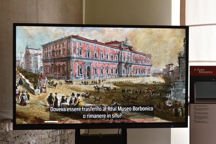 Il Mosaico di Alessandro, un viaggio multimediale per raccontare il capolavoro