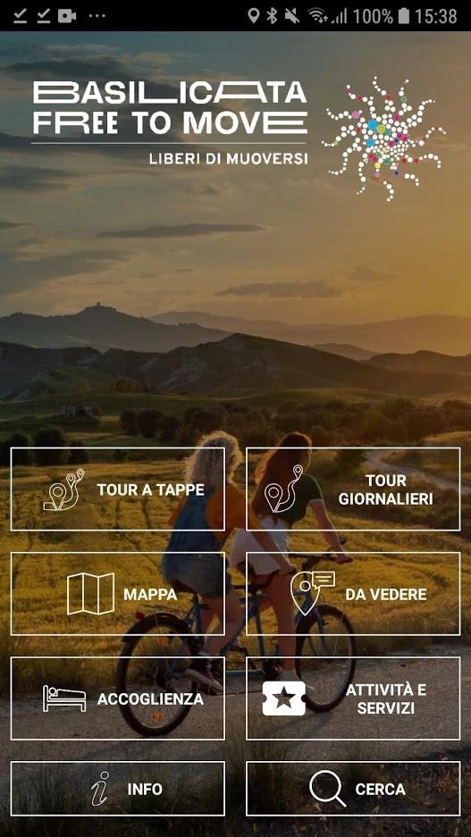 Cicloturismo in Basilicata: da oggi è più facile, con un'App dell'APT