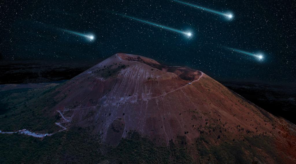 Passeggiata sotto le stelle sul Vesuvio per le notti di San Lorenzo