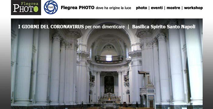 Le foto del Coronavirus, per non dimenticare alla Basilica Spirito Santo