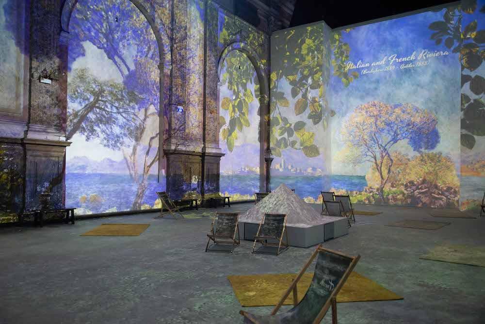 """""""Claude Monet: the Immersive Experience"""" resta a Napoli fino al 31 gennaio 2022"""