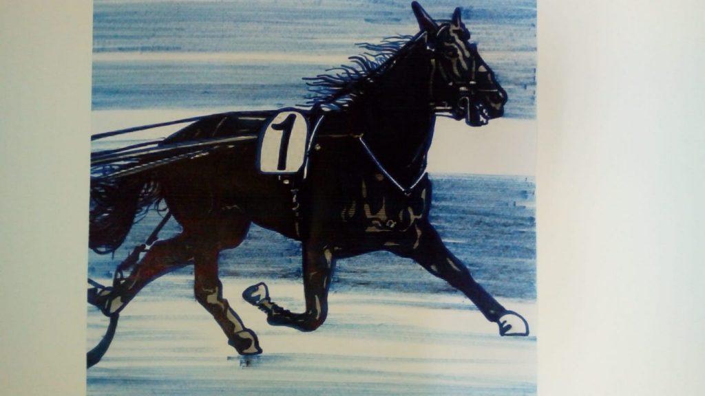 """""""Il fascino dei cavalli"""" nei disegni di Christophe Mourey per il 72° Gran Premio Lotteria"""